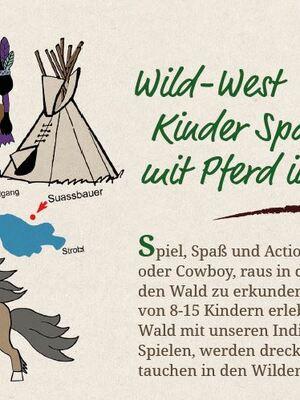 Wild-West Kinderspaß mit Pferd