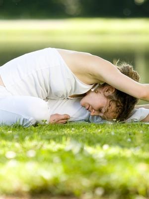 Yoga mit Szilvi