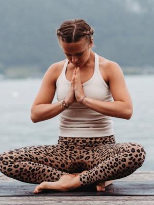 Yoga direkt am Mondsee