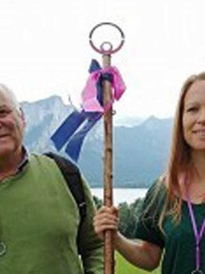 Was macht mich lebendig? - Vater und Tochter laden ein zum Pilgern im Mondseeland