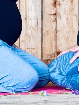Babybauch Yoga