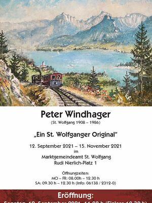 Ausstellung Peter Windhager