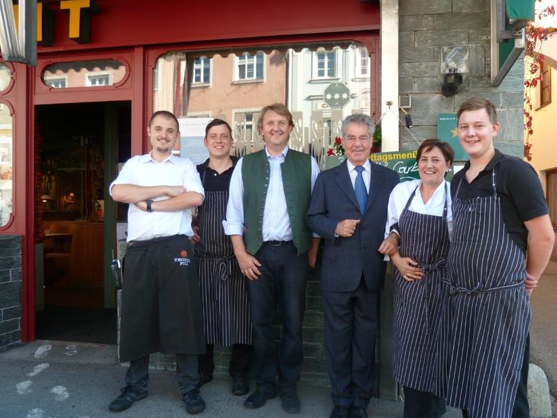 Das Team des Hotel Gasthof Zillner's Einkehr