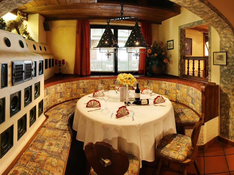 Gaststube im Gasthof Danzer