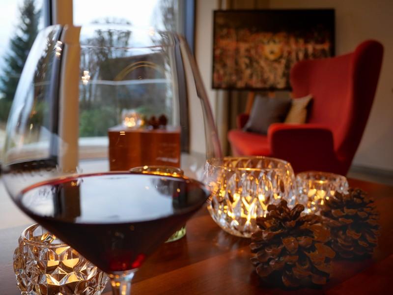 Wein- und Whiskyraritäten  in der Panorama-Lounge