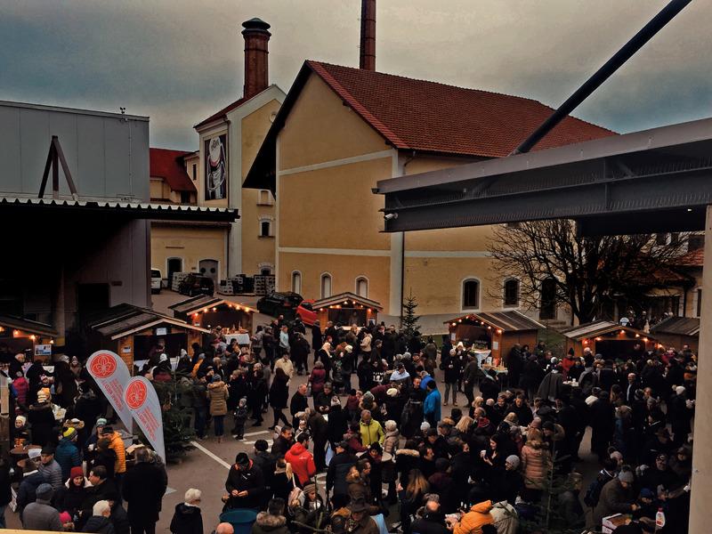 Rieder Brauerei-Advent am Brauereigelände