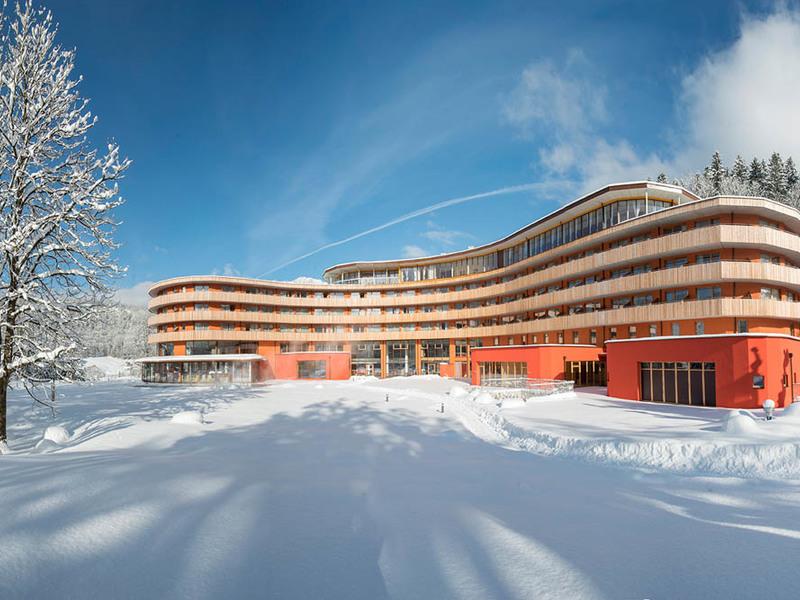 Vivea Gesundheitshotel Bad Goisern im Winter