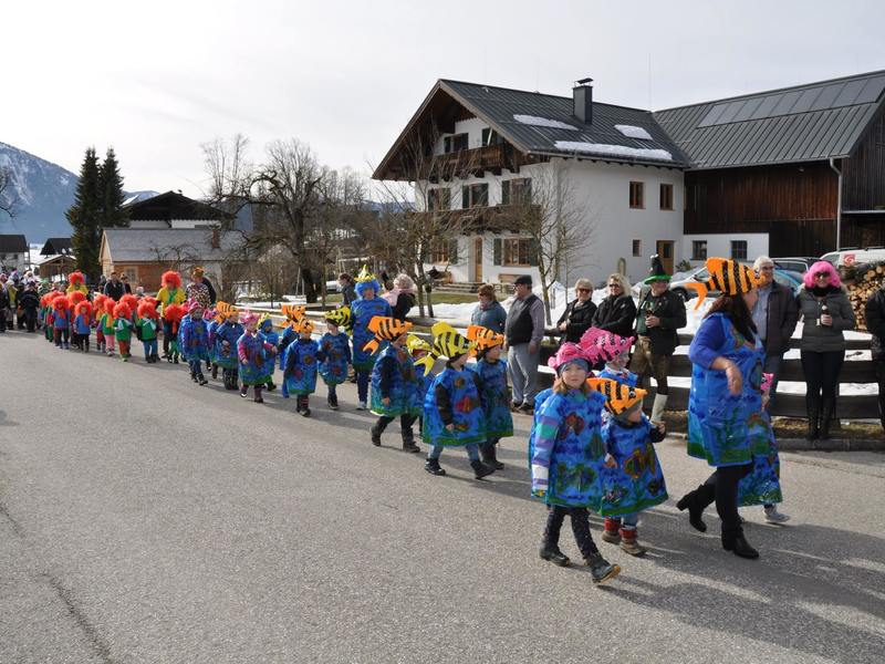 Kinderfasching in Rußbach