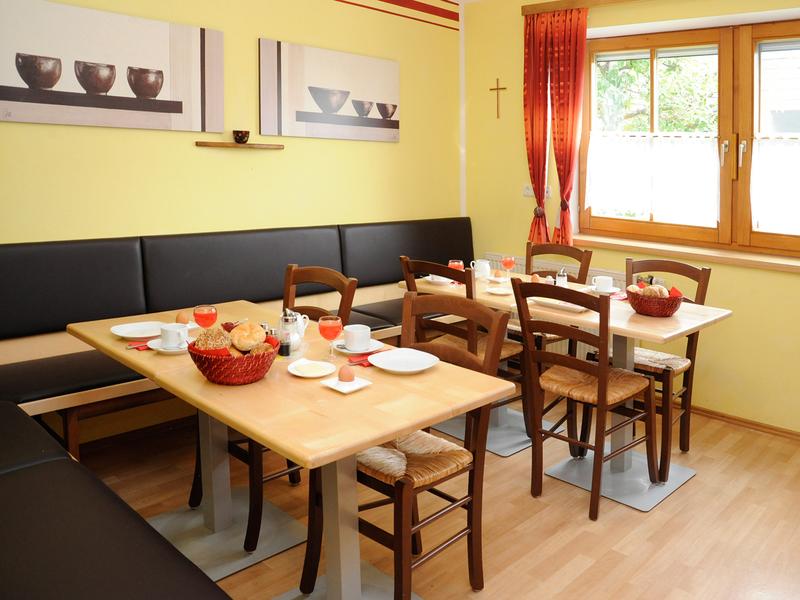 "Frühstücksraum im Haus \""Am Römerradweg\"""