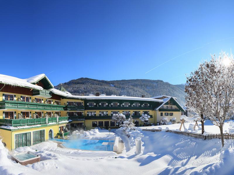Hotel Sommerhof in Gosau am Dachstein- Aussenansicht
