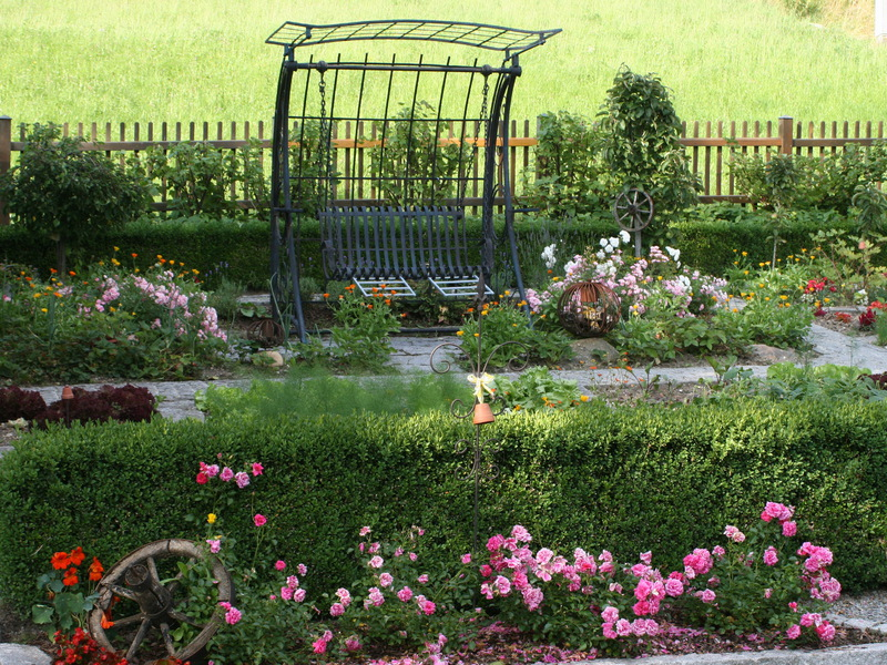 """Garten vom Haus \""""Am Römerradweg\"""""""
