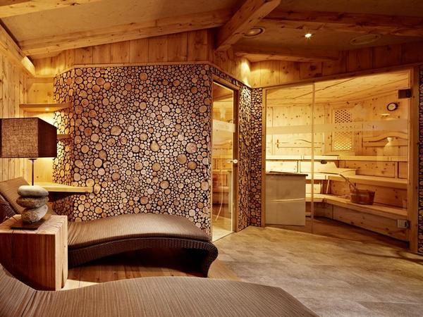 Saunabereich im Hotel Berghof Hintertux
