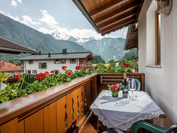 Landhaus Stefanie Aussicht Balkon