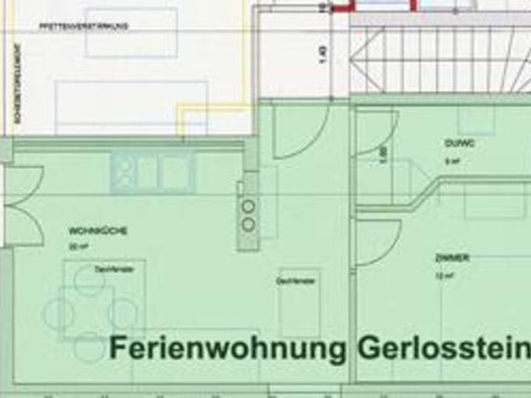 Ap. Gerlosstein - Grundriss