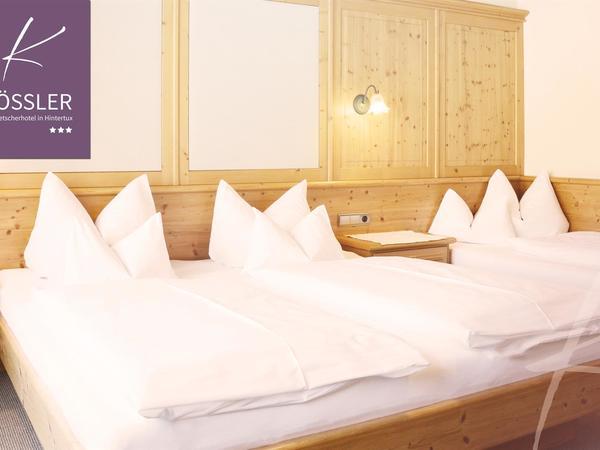 Dreibettzimmer Hotel Kössler