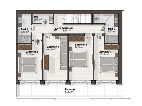 Haus A Untergeschoss