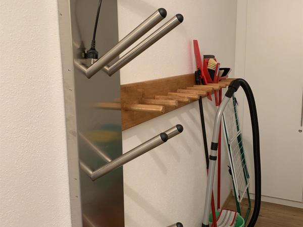 eigener Skischuhtrockner/ Abstellraum