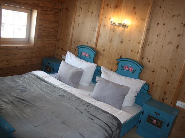 Schlafzimmer 2 Ferienhaus Tratl