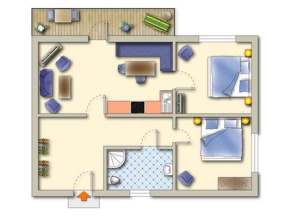 Grundriss Plan 1