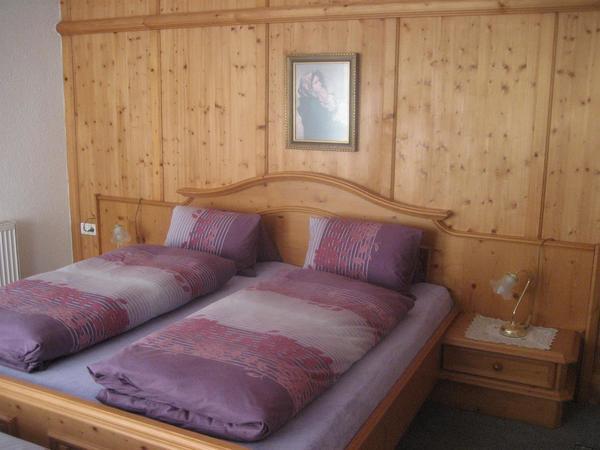 Zimmer aus Fichtenholz