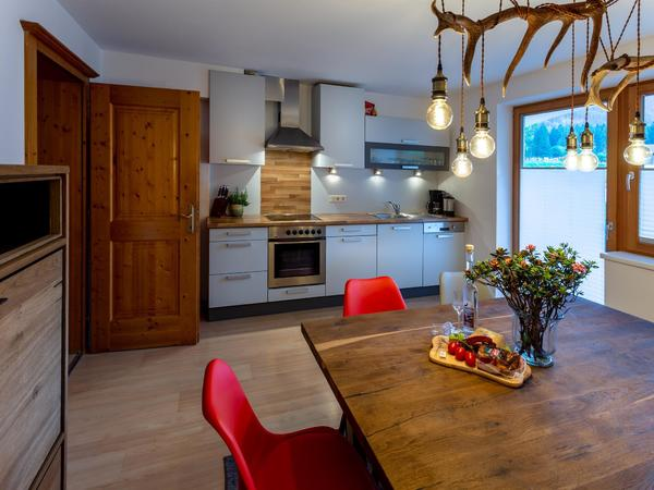 Alpen Appartements Mayrhofen- Küche