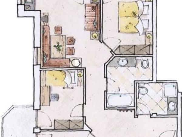 Wohnung Almrausch