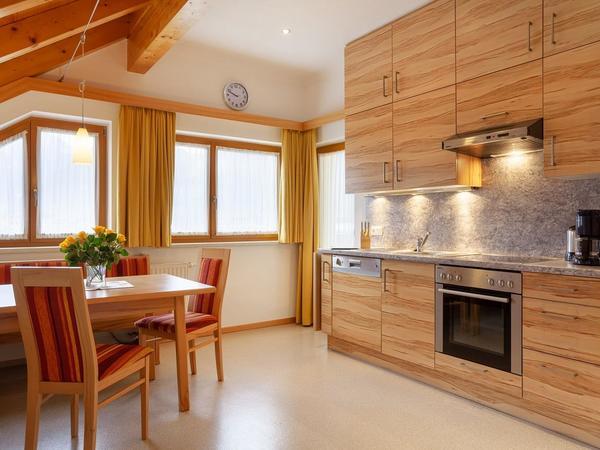 Küche Appartement kleiner