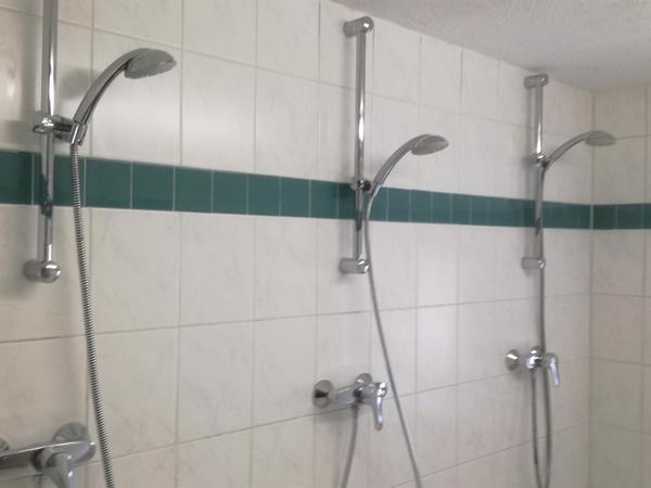 3 er-Dusche