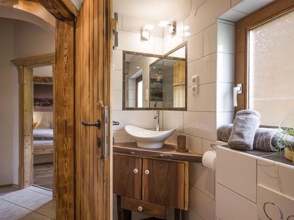 Chalet Zirbe Badezimmer