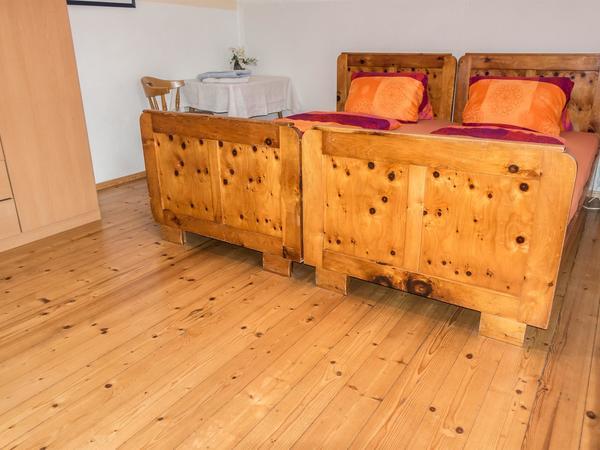 Schlafzimmer Appartement Hippach Mayrhofen