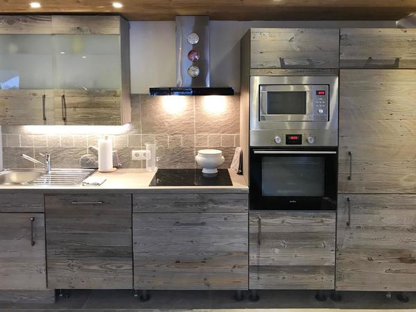 Küche im Stadl Look