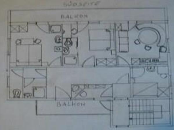Haus Brandacher, Fewo Skizze