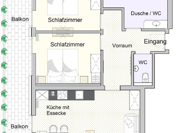 Apartment Fichte