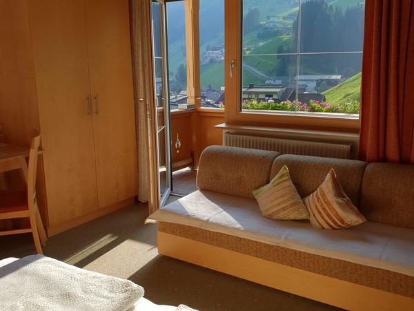 Ausblick Doppelzimmer