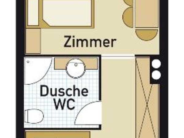 Appartmentzimmer 1