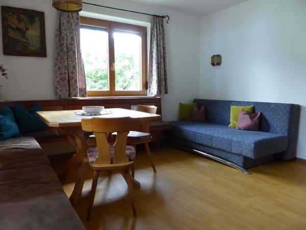 Ferienhaus Gruber Ferienwohnung Wohnzimmer 1