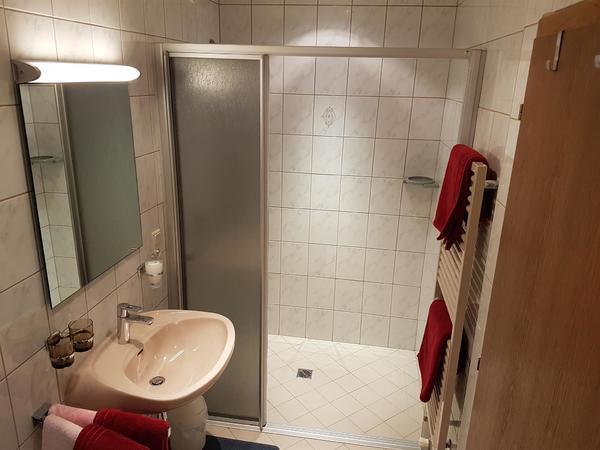 Ferienwohnungen Rinker Dusche Top 2