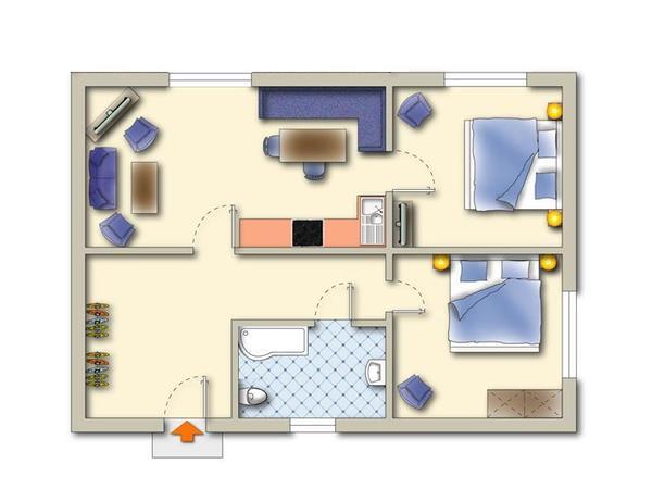 Grundriss Plan 2