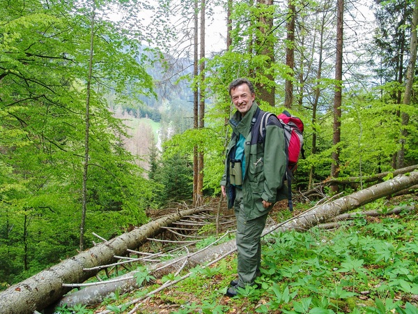 Steyr am Nationalpark mit Dr. Erich Mayrhofer, Weltnaturerbe-Manager