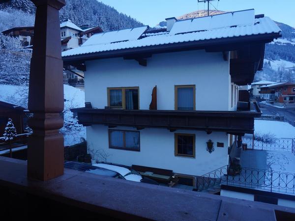 Gästehaus Tipotsch im Winter