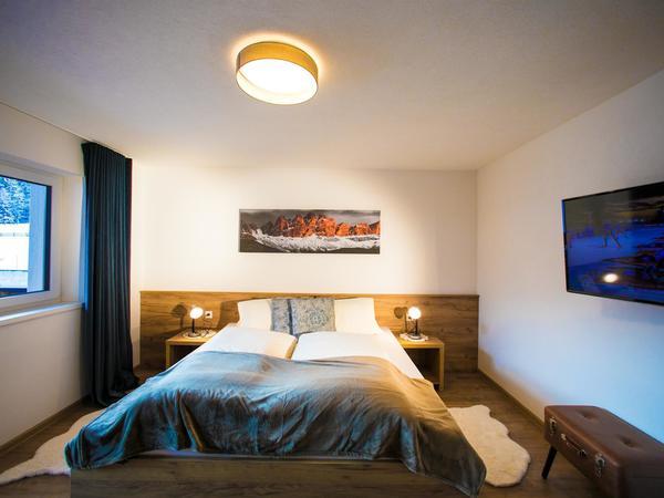 Apart Jöchler Apart 1 Schlafzimmer Ansicht