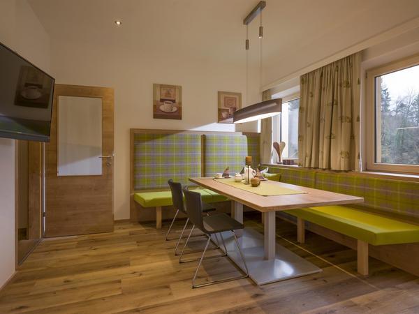 Haus Kreidl, Mayrhofen, Wohnküche