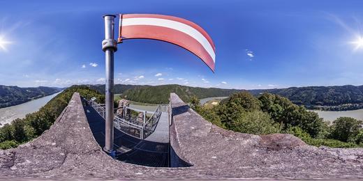Burgruine Haichenbach - © WGD Donau Oberösterreich Tourismus GmbH / Weissenbrunner