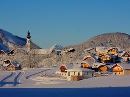 Faistenau in winter (© Tourismusverband Faistenau - Josef Rehrl)