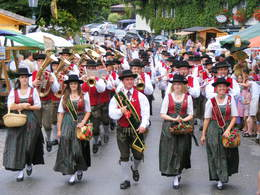 Local brass band of Faistenau (© Tourismusverband Faistenau)