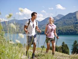 Wandern in der Urlaubsregion Fuschlsee (© Fuschlsee Tourismus GmbH/Erber)