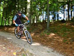 Mountainbiker (© brainpark/ MTV Traunsee)