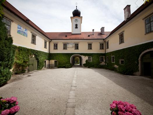 Innerer Schlosshof (© Salburg)