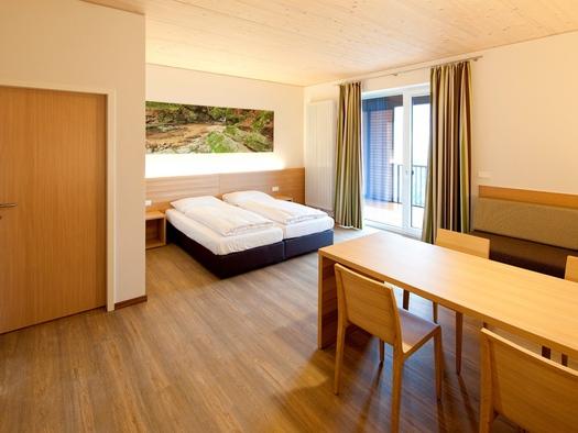 Zimmer der Schatz.Kammer - Burg Kreuzen. (© Burg Kreuzen Betriebs GmbH)