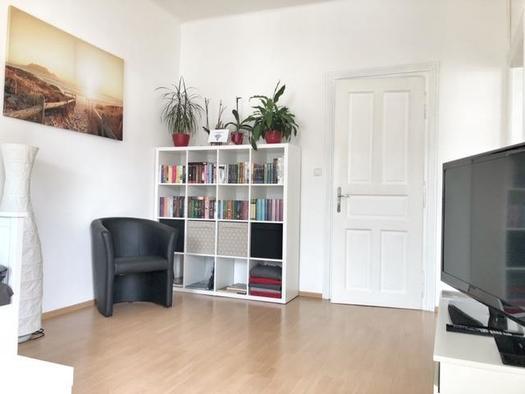 Gemütliche Leseecke im Wohnzimmer (© Wolfis Traunseeblick)